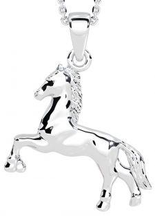 "Silver Irish ""Horse"" Pendant"