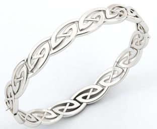 Silver Celtic Bracelet Bangle