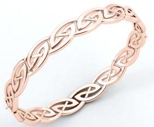 Silver Celtic Bracelet Bangle