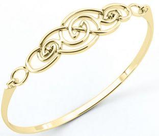 """Silver Irish """"Celtic Knot"""" Bracelet"""
