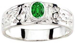 Silver Celtic Lion Ring Unisex ladies Mens