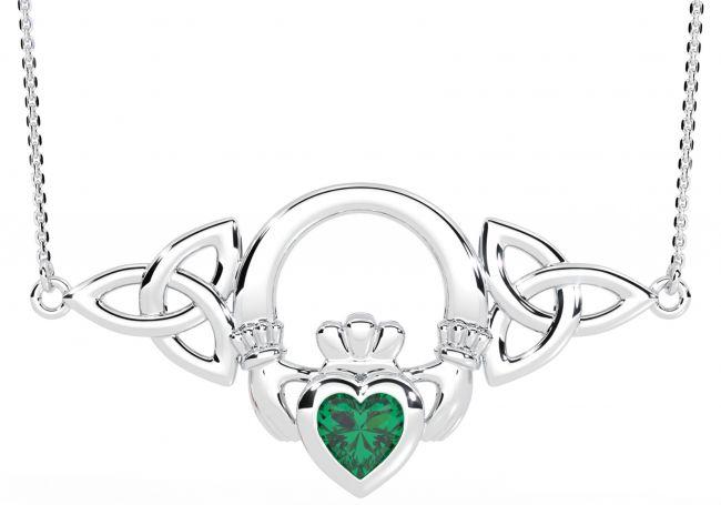 Silver Emerald Irish