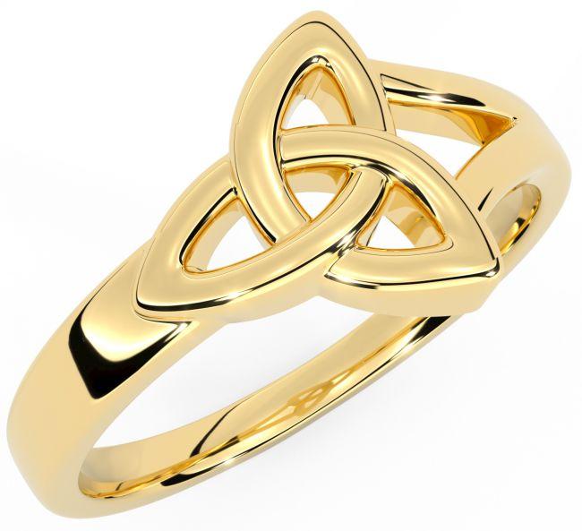 Ladies 14K Gold Celtic Knot Ring