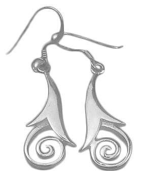 Silver Celtic Dangle EarringsSilver Celtic Earrings