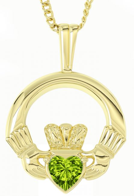 Gold Peridot Irish