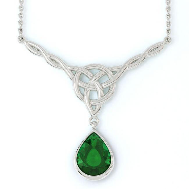 Silver Celtic Necklace