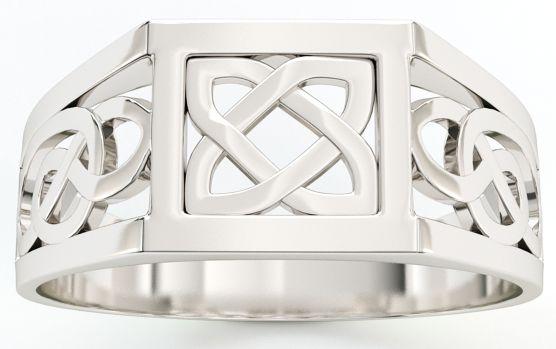 Silver Celtic Knot Pendant